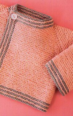 Ravelry: Garter Stitch Cardigan pattern by Pixiepurls