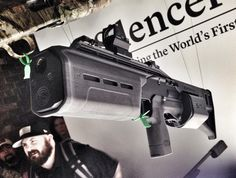 YES THIS IS REAL! Silencerco and Crye Precision collaborated to make a SIX12 [Modular Shotgun] with a 6 inch Salvo 12 suppressor [Silencer].