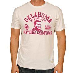 Barry Switzer Oklahoma Sooners Men's Short Sleeve Tee  #BoomerSooner #OU #OklahomaSooners #Wishbone #Collegefootball