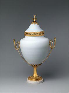 Potpourri vase  Karl Friedrich Schinkel (German, Neuruppin 1781–1841 Berlin)  Maker: Werner & Mieth, Berlin Date: ca. 1810