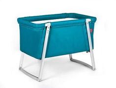 BabyHome Dream Baby Crib In Turquoise. See More Baby Cribs at http://www.ourgreatshop.com/Baby-Cribs-C1069.aspx
