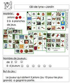 Jardinage Plantation, Photo Wall, Math, Nature, Petite Section, Explorer, Land Art, Points, Animation