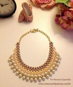 Maxi Tutorial collar de perlas - A la altura de la moda!
