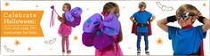 DIY Halloween Costumes: Fairy Wings and Super Hero Capes!