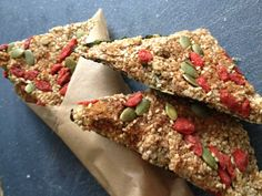 These crunchy snacks are sure to satisfy your taste buds and give you a daily dose of calcium! Sesame seeds and seaweed are great sources of calcium for the raw vegan diet. I like to use the unhull…