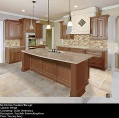 Color Palette To Go With Our Marquis Cinnamon Kitchen Cabinet Line Beauteous Virtual Kitchen Color Designer Inspiration