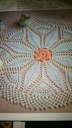 Вязаные салфетки и мелочи для дома Crochet Motif, Crochet Doilies, Crochet Flowers, Crochet Pants, Doily Patterns, Diy And Crafts, Knitting, Crochet Tutorials, Crochet Blankets
