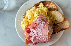 scrambled oeufs from Buvette in NYC