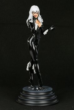 Black Cat statue  Sculpted by: Tim Miller    Release Date: May 2010  Edition Size: 1750  Order Of Release: Phase IV (statue #203)