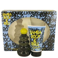 Samba Rock & Roll by Perfumers Workshop Gift Set -- 3.4 oz Eau De Toilette Spray + 4.4 Shower Gel - https://factoryoutletperfumes.com/product/samba-rock-roll-by-perfumers-workshop-gift-set-34-oz-eau-de-toilette-spray-44-shower-gel-fx457028/