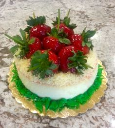 Strawberry cheesecake #summersweets