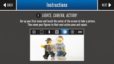 Lego Movie Maker: FREE Build your own LEGO® adventure, then capture your story!  Help your child bring their LEGO characters to life with the LEGO Movie Maker App. This fun, kid-friendly app brings the whole family together to create a custom LEGO stop-motion movie.  Simple tools and guides make it easy to shoot, edit, and even score your movie with music. Add one of the customizable.......