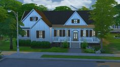 Lacey loves sims: Cumberland Cottage • Sims 4 Downloads