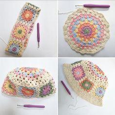 Crochet Beanie, Cute Crochet, Crochet Baby, Knit Crochet, Crochet Flower Hat, Crochet Shirt, Crotchet, Diy Crochet Projects, Crochet Crafts