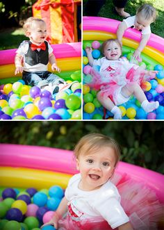Fun Circus Themed 1st Birthday for Twins Isla and Jude