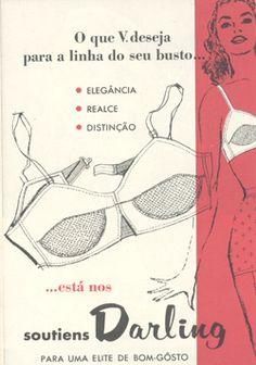 vintage bra ad from Brazil