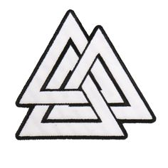 Embroidered patch with heat sealed backing. Perfect for leather jackets and leather vests.on.