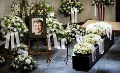 ヨハン・フリーゾ王子の葬儀です。