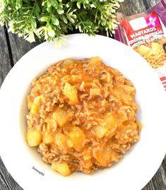 Tökpörkölt 2db Curry, Chicken, Meat, Ethnic Recipes, Food, Curries, Essen, Meals, Yemek