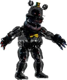 Full body photo of Nightmare from Five Nights at Freddy's 4. #FNAF4