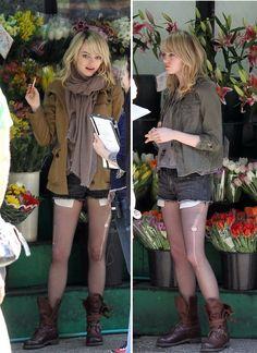 Emma Stone | street style