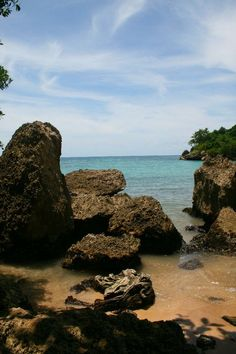 Jacmel, Haiti. In Pearl of the Caribbean, Brandt and Nadia visit Jacmel, arriving by boat to a beach similar to this one. For more info, visit me at www.terimetts.com and ck under Novels.
