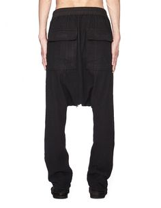 Cotton trousers DRKSHDW by Rick Owens (photo)