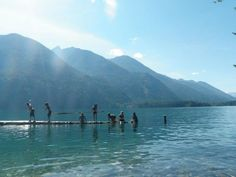 Swimming+in+Lake+Chelan+Washington | ... the sunshine and the crystalline waters of Lake Chelan in Stehekin, WA