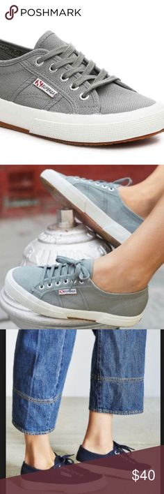 'Cotu' Sneaker SUPERGA WORN TWICE SPRING SHOE SIZE 40 great condition! (Runs small) Superga Shoes Sneakers