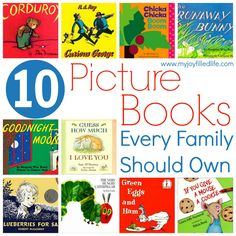 10 Picture Books Every Family Should Own