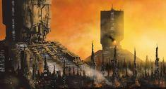 New Day In LA -Blade Runner by derbz