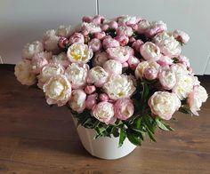 #flowers #buquet #peony #pink #romantic