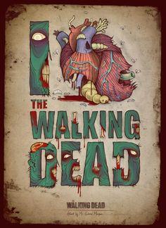 <3 Walking Dead.