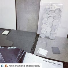 """Thanks @renni.maitland.photography for the great feedback. Can't wait to see what you do with your new tiles! #Repost @renni.maitland.photography """"Beaumonts are killing it in the tile picking game. Cappuccino maker definitely helping! Bathrooms are nearly sorted! Thanks to legends David & Sharmaine down there, couldn't ask for better help! #Beaumonttiles #bathroominspo #colourpalette #shape #texture #lovingit #beaumontsportlincoln #pattern #carrara #concrete #steelgrey #timber """""""