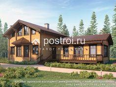 Проект деревянного дома с сауной № M-185-1D [M110 (11-32)]