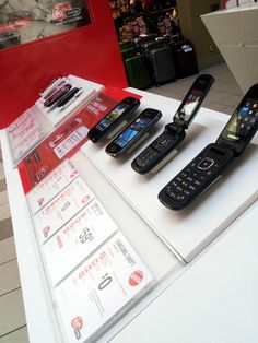 Retail merchandise control at Virgin Mobile in Canada