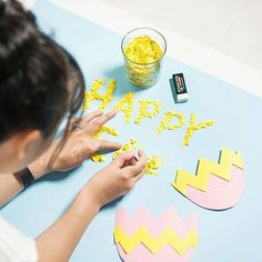 Did you like our last post? Here's a behind the scenes of our content creator @clickthisphoto working on the stop motion Easter video in our studio   All those pieces of confetti were patiently manipulated by hand for each frame of this year's Happy Easter video (one post back). Amazing work Connie! #behindthescenes #bts #studiolife #makingof #workinprogress #videoshoot #crafting #confetti #happy #yellow #patience #amazing #love this #happyeaster #ozsale #ozsaleloves