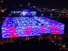 Olympic Games building in Beijing #beijing.