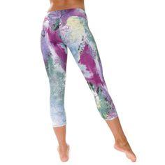 Onzie Capri Pant - Hot Yoga Clothing, Bikram Yoga Clothes, Core Power Yoga ($56)