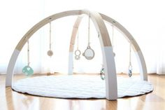The Scandi-inspired baby play gym by Bella Buttercup