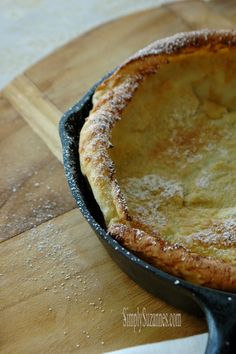 Simply Suzanne's AT HOME: dutch baby . . . an oven-baked pancake