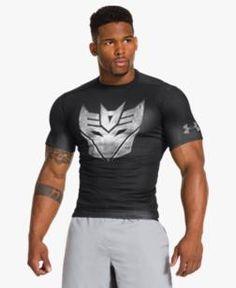 Men's Under Armour® Alter Ego Transformers Decepticons Metal Compression Shirt