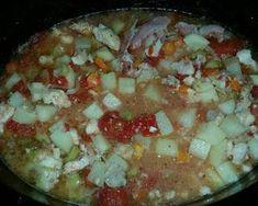 Southern Catfish Stew Recipe by Kari Campos🥑🌶 - Cookpad Southern Catfish Stew Recipe, Cubed Potatoes, Stewed Tomatoes, Campfire Food, Baked Fish, Crab Cakes, Fish And Seafood, Soups And Stews, No Bake Cake
