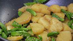 감자조림 맛있게 만드는법 : 꽈리고추 넣어 더욱 맛있게 Korean Food, Kimchi, Cantaloupe, Chicken, Meat, Fruit, Cooking, Recipes, Cucina