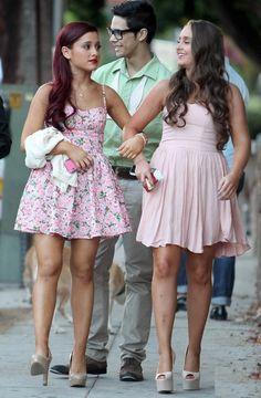 Ariana Grande and Alexa(: such a cute pair of besties