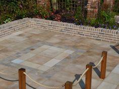Marshalls Fairstone Sawn Patio - Garden Makeover #MarshallsPLC #Fairstone #Sawn #Paving