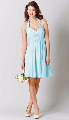 Lucy Chiffon Bridesmaid Dress