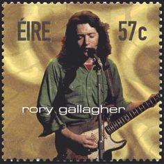 Sello: Rory Gallagher (Irlanda) (Rock Stars) Mi:IE 1467,Sn:IE 1438,Sg:IE 1558
