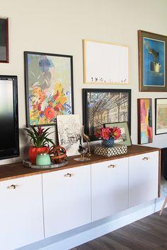 IKEA kitchen cabinet credenza