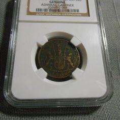 ADMIRAL GARDNER 1808 E. INDIA CO 10 CASH MADREAS PRESIDENCY Genuine SHIPWRECK Coin – NGC #2036092-064 $58.95